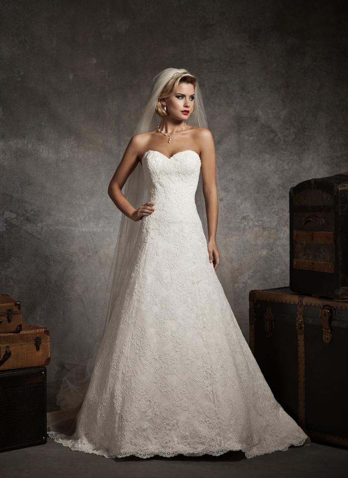 Justin Alexander 8627 - Vintage szalon - menyasszonyi ruha 73d7e49ca7