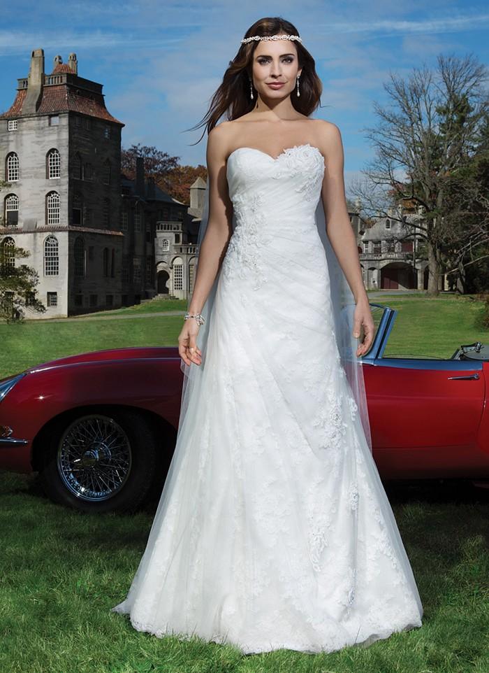 Justin Alexander 8743 - Bonjour vintage szalon - menyasszonyi ruha 6ee17da18c