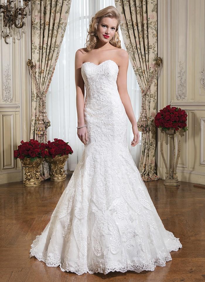 Justin Alexander 8776 - Vintage szalon - menyasszonyi ruha 68f7062d53