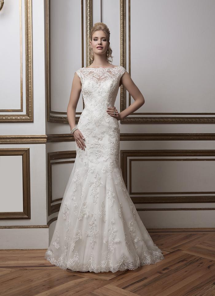 Justin Alexander 8797 - Bonjour vintage szalon - menyasszonyi ruha 20b7450f71