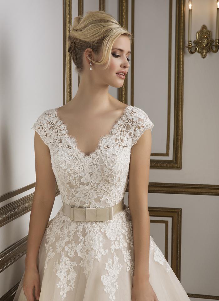 Justin Alexander 8815 - Vintage szalon - menyasszonyi ruha 9baba58530