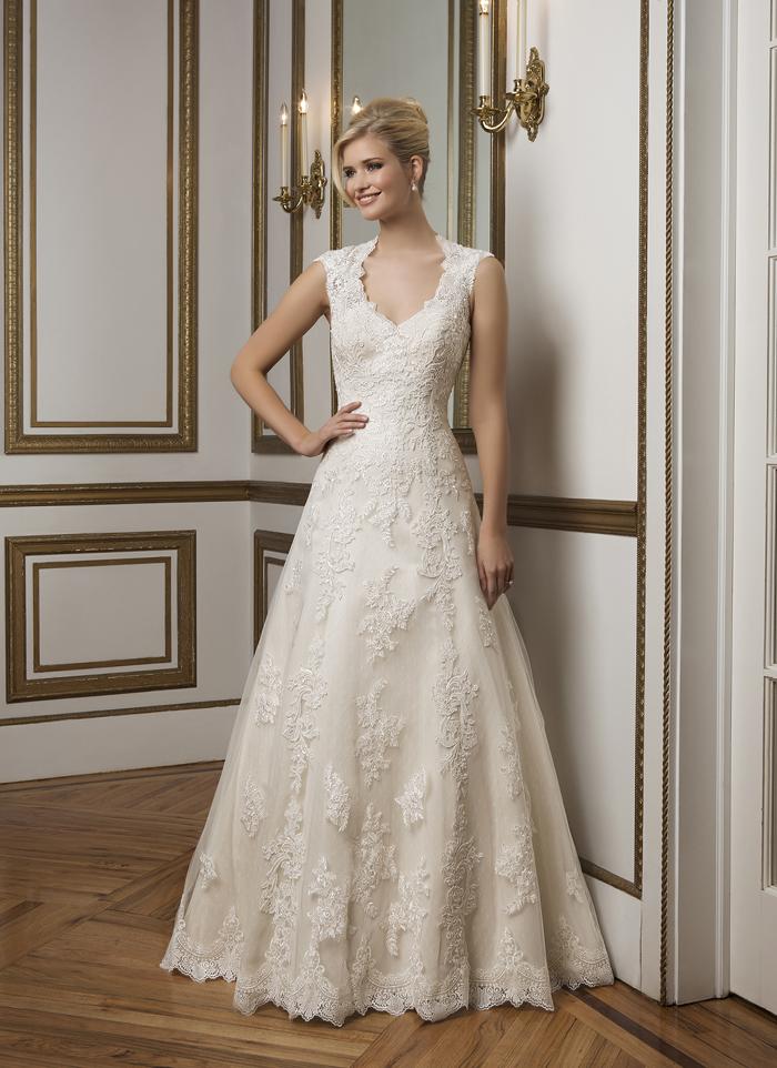 Justin Alexander 8822 - Vintage szalon - menyasszonyi ruha 5ba58452b2