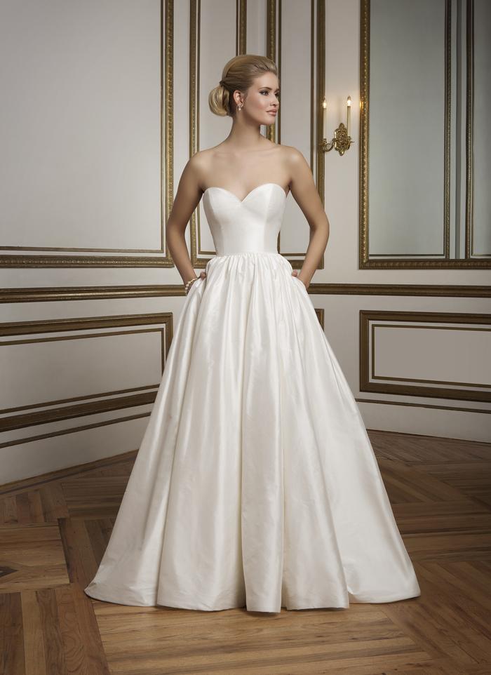 Justin Alexander 8825 - Bonjour vintage szalon - menyasszonyi ruha eebda80472