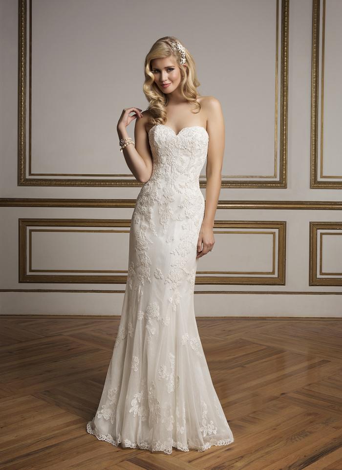Justin Alexander 8830 - Vintage szalon - menyasszonyi ruha 923757bb16