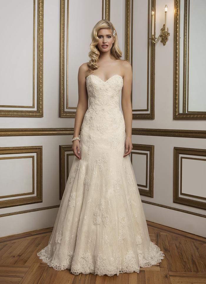 Justin Alexander 8839 - Vintage szalon - menyasszonyi ruha 5372afca52
