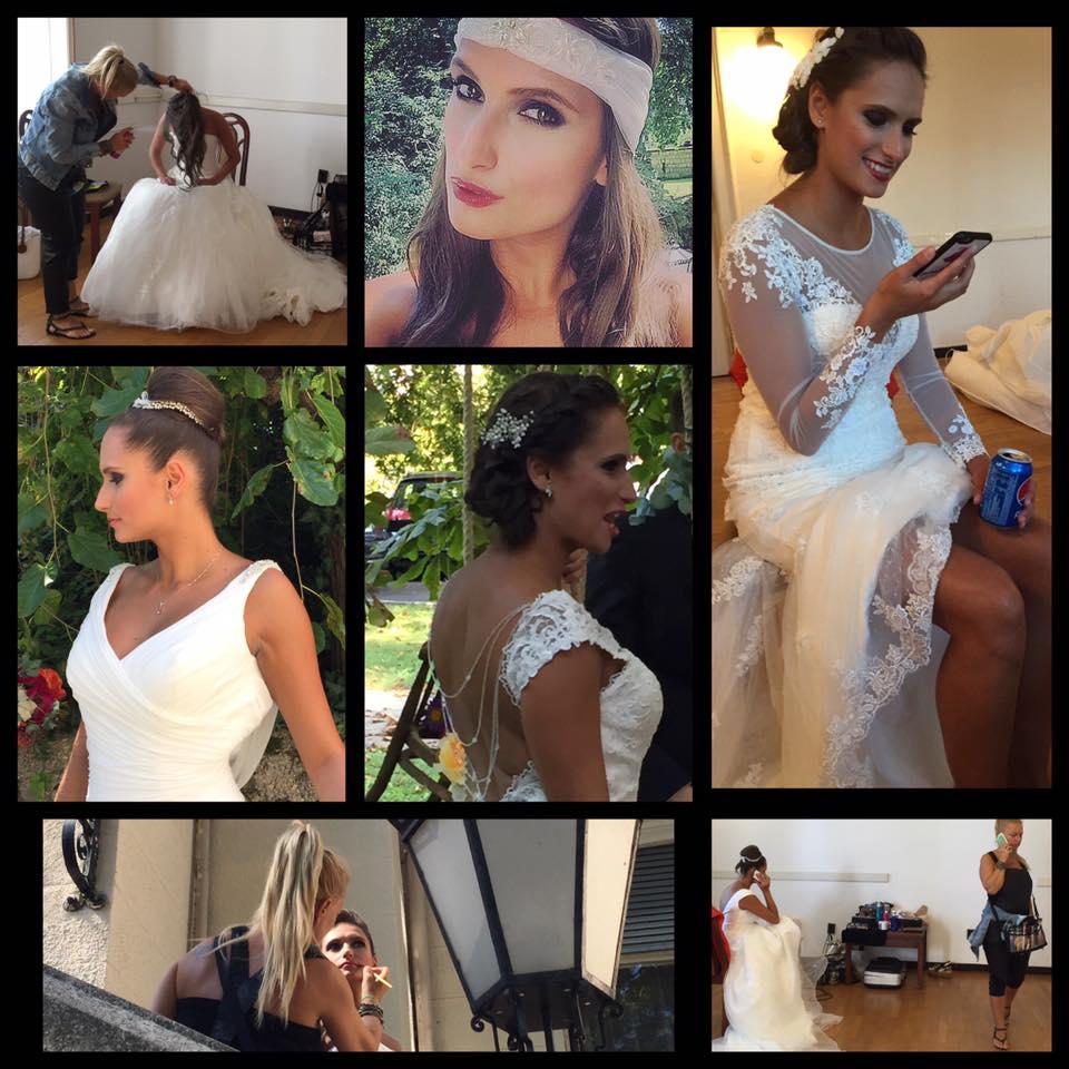 ... modellünk sok arcához Csengery Beatrix megálmodja a hajakat és  sminkeket a Bonjour Szalon gyönyörű menyasszonyi ruháihoz és Bridal Mirage  hajdíszeihez! 40628a66fb